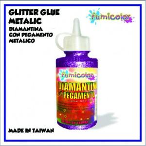 GLITTER GLUE METALIC